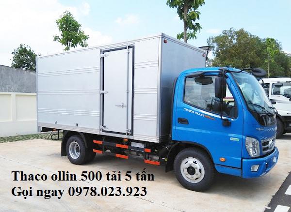 thaco-ollin-500e4-tai-trong-4-995-tan-thung-dai-4m35